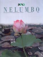 The Bulletin of the Botanical Survey of India: Nelumbo: Vol. 52 : 1 - 8