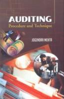 Auditing : Procedure and Technique