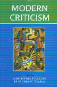 Modern Criticism/Christopher Rollason and Rajeshwar Mittapalli