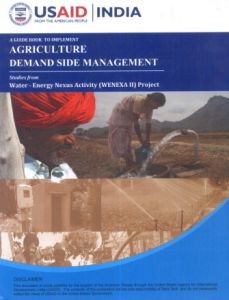 A Guide Book To Implement Agriculture Demand Side Management: Studies from Water Energy Nexus Activity (WENEXA II) Project