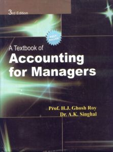 A Text Book Of Accounting For Managers