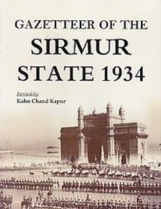 Gazetteer of the Sirmur State 1934