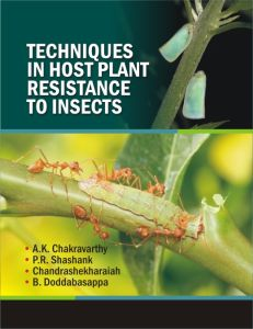 Techniques in Host Plant Resistance to Insects