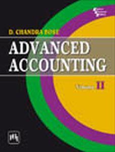 Advanced Accounting : Volume II