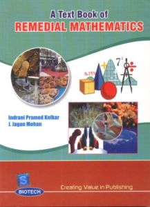 A Text Book of Remedial Mathematics